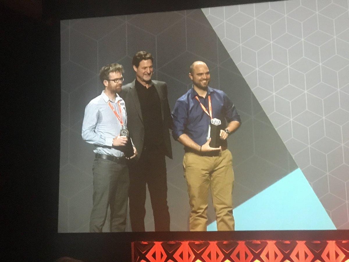 fisheyeweb: We won!!! Congrats @virginiahayward #MagentoImagine https://t.co/XfWR4vtt5T