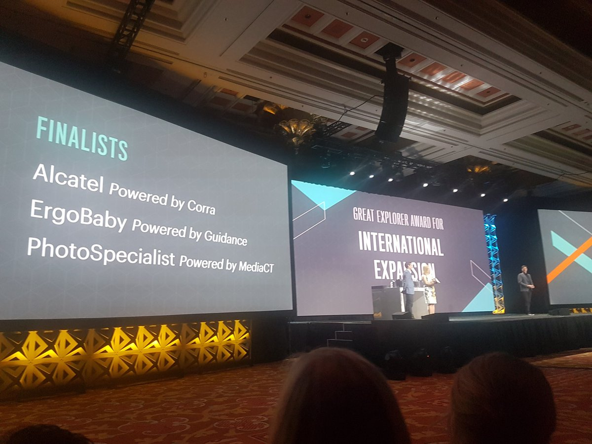 sandermangel: And @mediact with the nomination for International Expansion! #Magentoimagine https://t.co/SKFSa3Z0wd