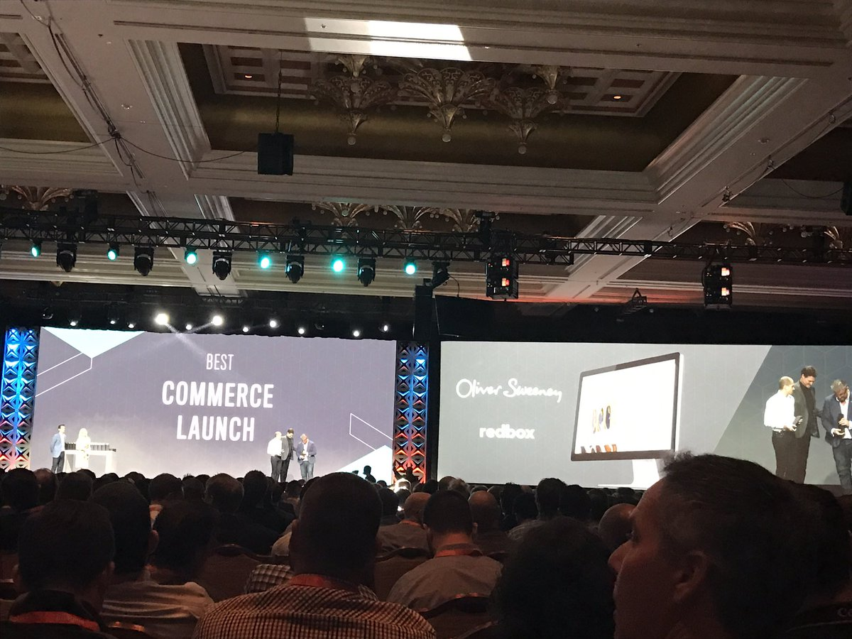 steph_k88: Well done @OliverSweeney & @redboxdigital on winning best #commerce launch of the year #Magentoimagine https://t.co/JFVzUWVyxj