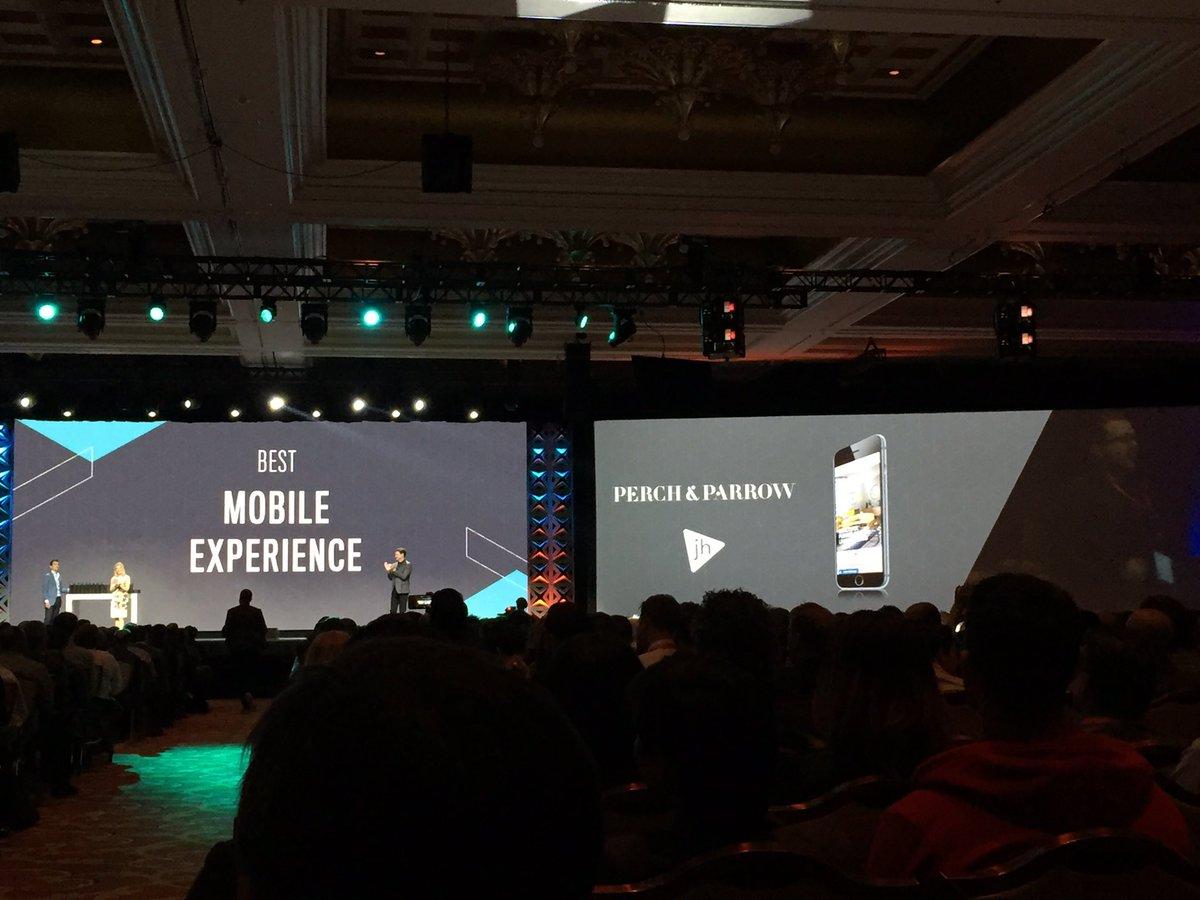 magento_rich: Beat Mobile Experience.. Perch & Parrow, @wearejh #MagentoImagine https://t.co/xOZinhCZtG