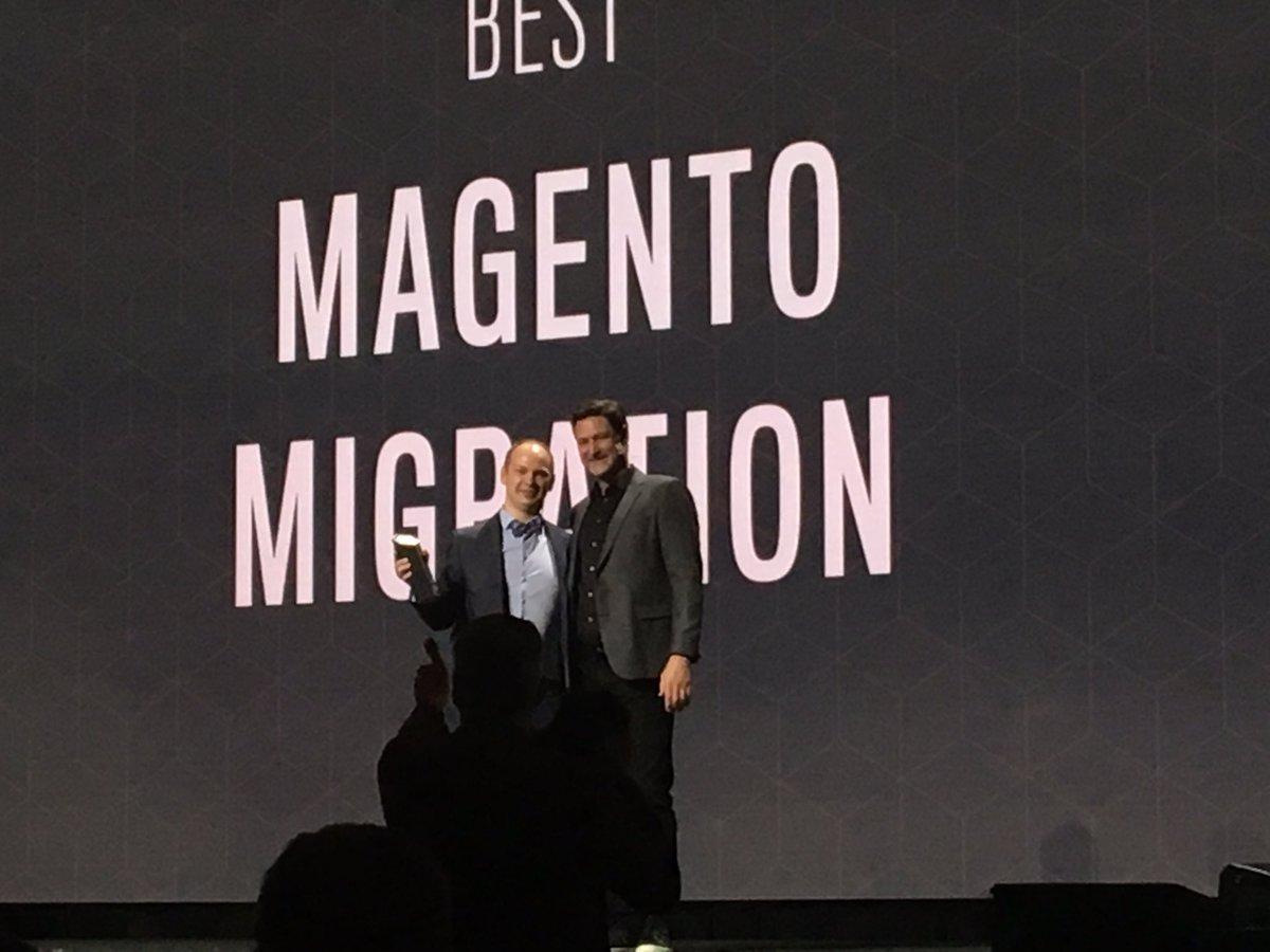 agaltsow: Congrats @max_pronko 👍#MagentoImagine https://t.co/qFbkrwww4m