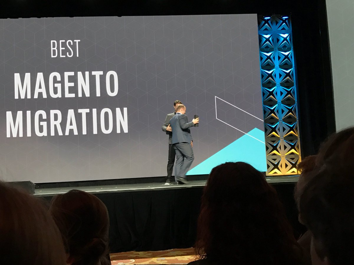 FutureDeryck: Yes. Well done the Irish store and @max_pronko #Magentoimagine nice to see a client win :) https://t.co/Aqtn9NEkEH