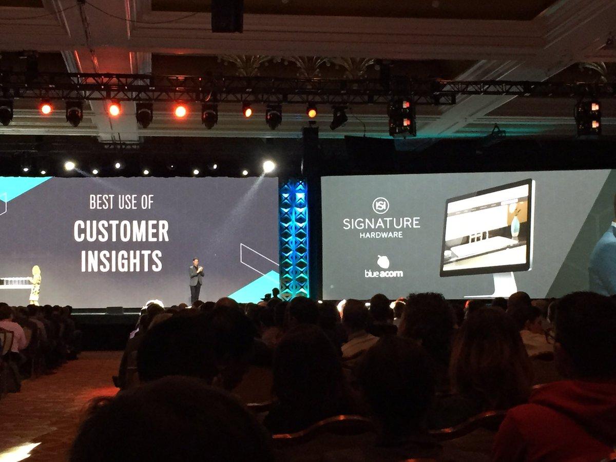 magento_rich: Best Use of Customer Insight.. Signature Hardware, @blueacorn #MagentoImagine https://t.co/jAgOzQpJgQ