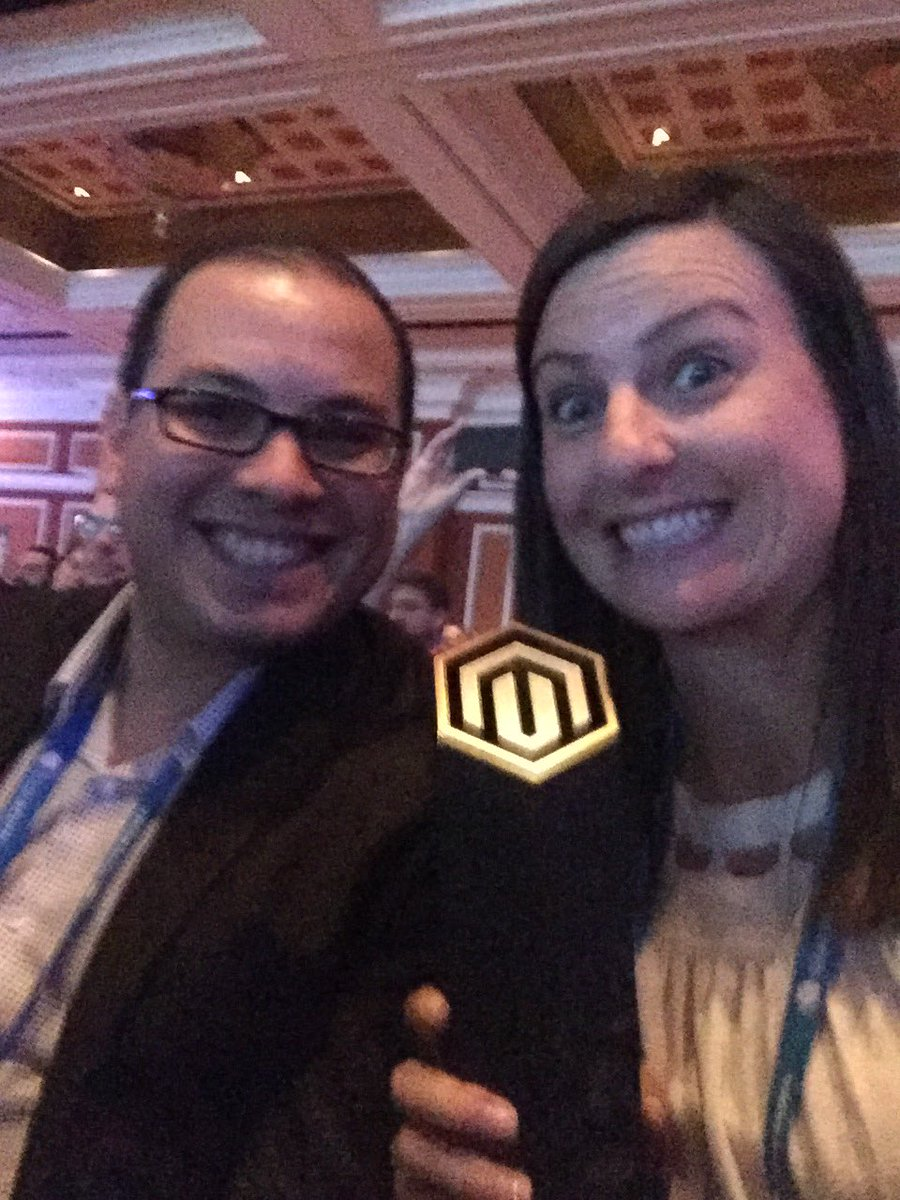 emily_a_wilhoit: Wahoo! @blueacorn won #Magentoimagine award for best use of consumer insights for our work with @SignatureHW! 🏆 https://t.co/bTIQ5S8nTQ