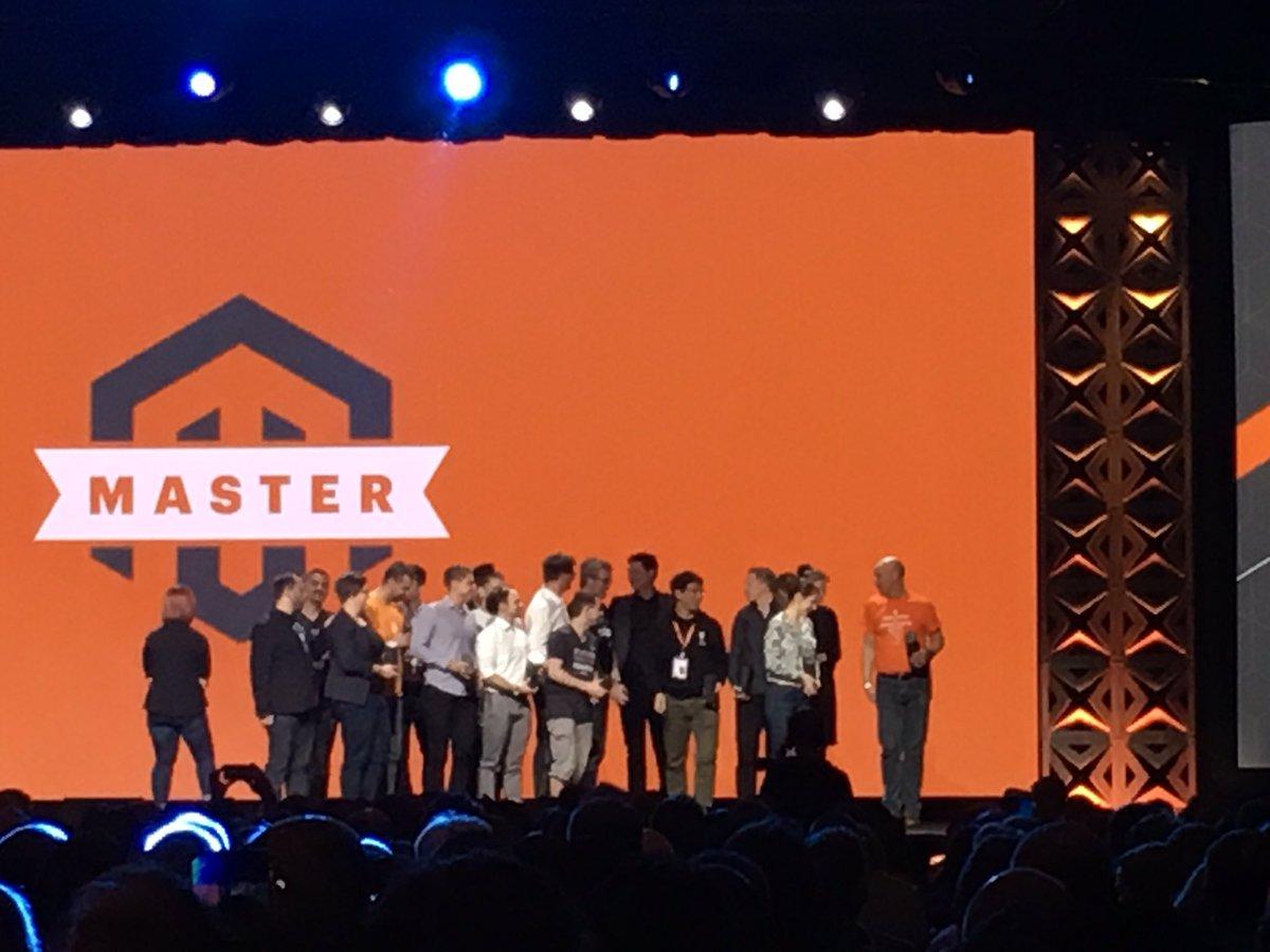 blackbooker: Congrats to all the Masters of 2017!! #Magentoimagine https://t.co/vrSVrURZtB