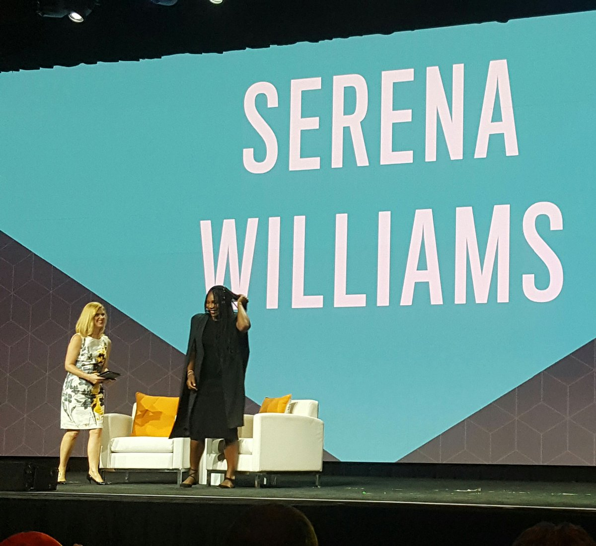 D_n_D: [Magento Imagine] Serena Williams on stage now for #Magentoimagine keynote! #realmagento https://t.co/T98yNu7HbO