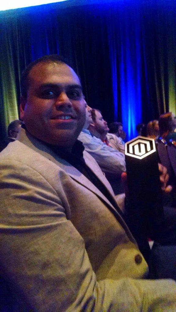 stevegatto: @PRFTDigital #winning Best Overall B2B Solution for @carrier at #Magentoimagine https://t.co/fWWcf99nia