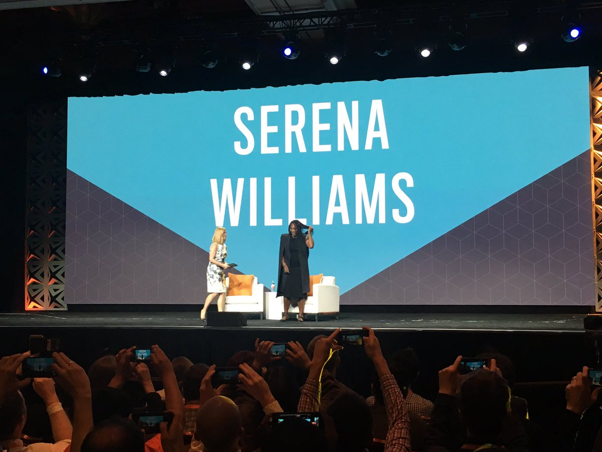 CommerceJohn: 'It didn't seem like we were training 5 hours a day, it was a family outing.' @serenawilliams #Magentoimagine https://t.co/Oq766MbRNT