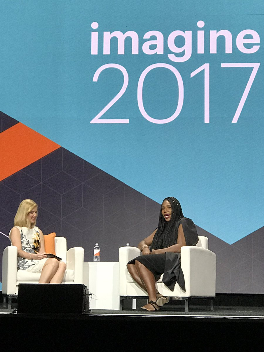 gsicotte: Definition of excellence! @serenawilliams #Magentoimagine https://t.co/Lag93W8u0F