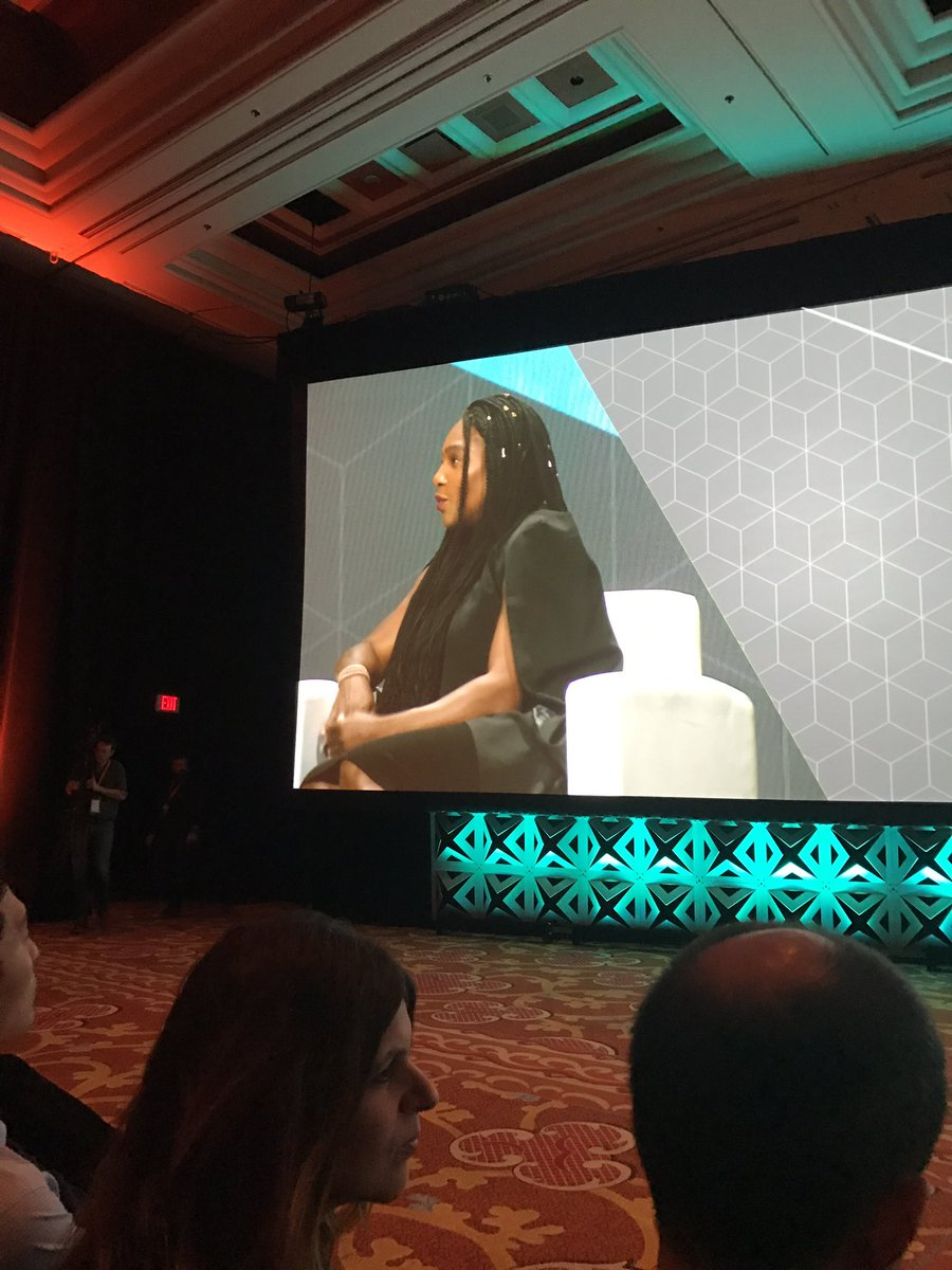 brentwpeterson: Enjoying the conversation with @serenawilliams #Magentoimagine https://t.co/crao2ZzwwU