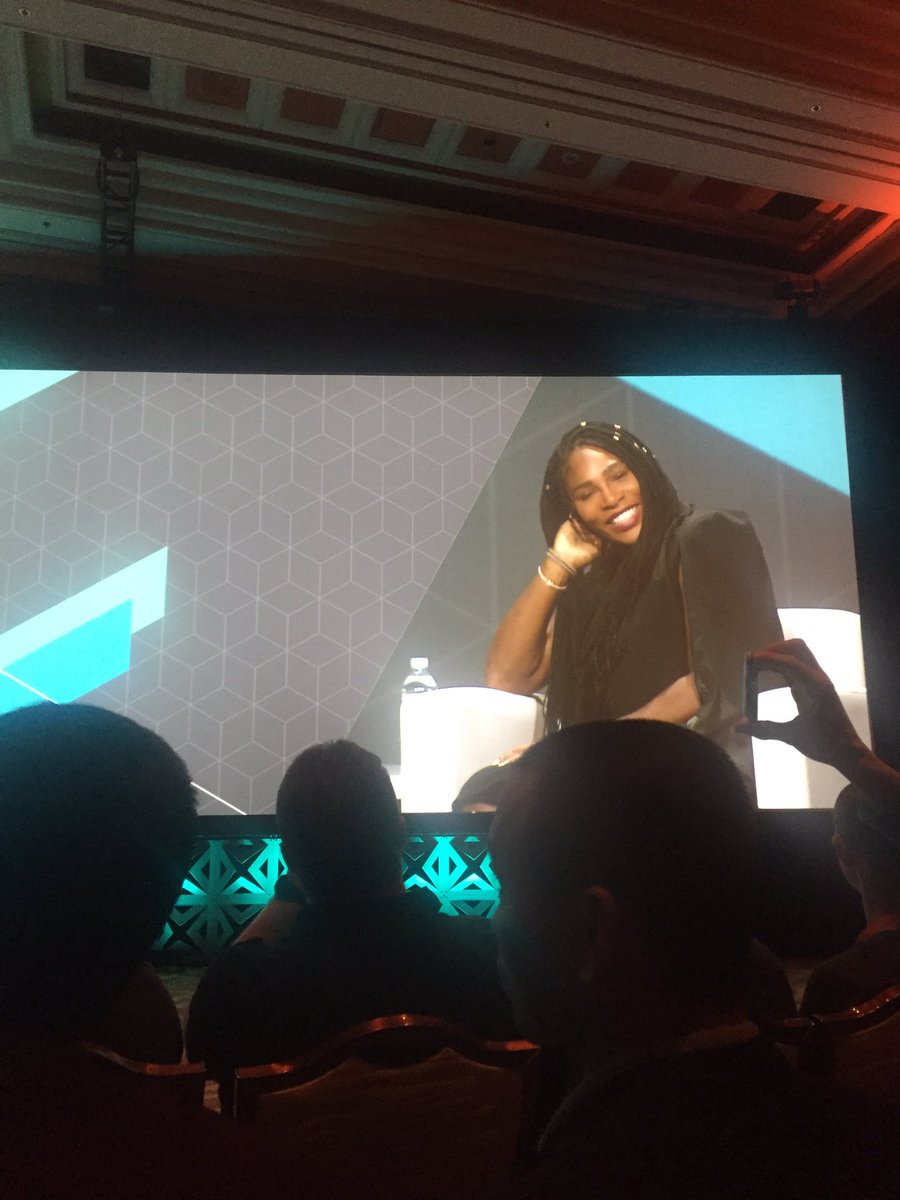 tory_bum: 'We do not always achieve our goals, but we should always set those goals' @serenawilliams #magentoimagine https://t.co/zBLRNrAufn