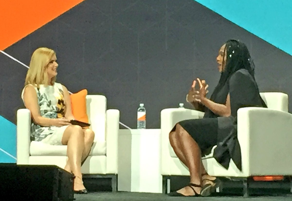 annhud: If you are steady looking behind you, you don't see what's in front of you. @serenawilliams #MagentoImagine https://t.co/a3lBJwzetn