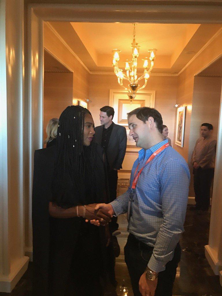 temando: Meeting The Greatest!  @serenawilliams @carlhartmann @magento #Magentoimagine #magentoimagine2017 https://t.co/ysVPtnyPAK