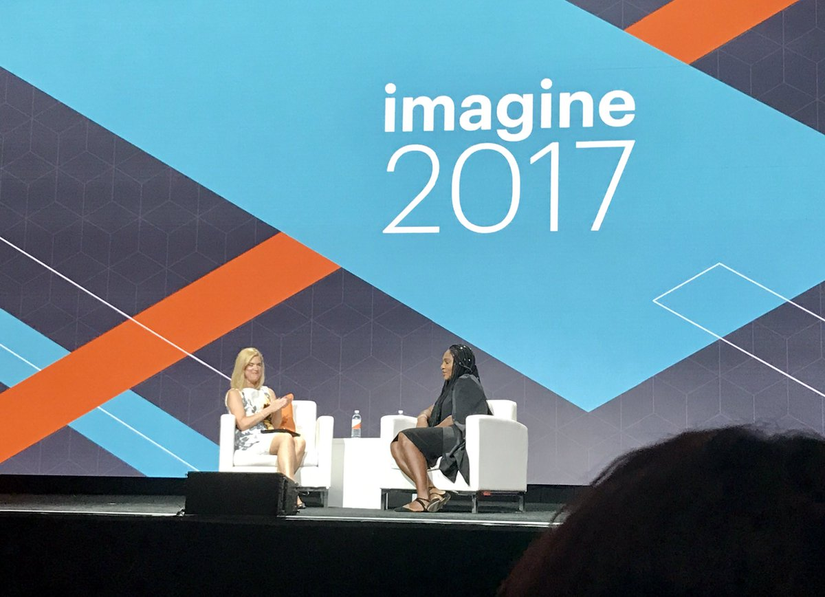 ericerway: Great to have a champion like @serenawilliams on the stage at Imagine. #MagentoImagine https://t.co/TmErIJ8ShI