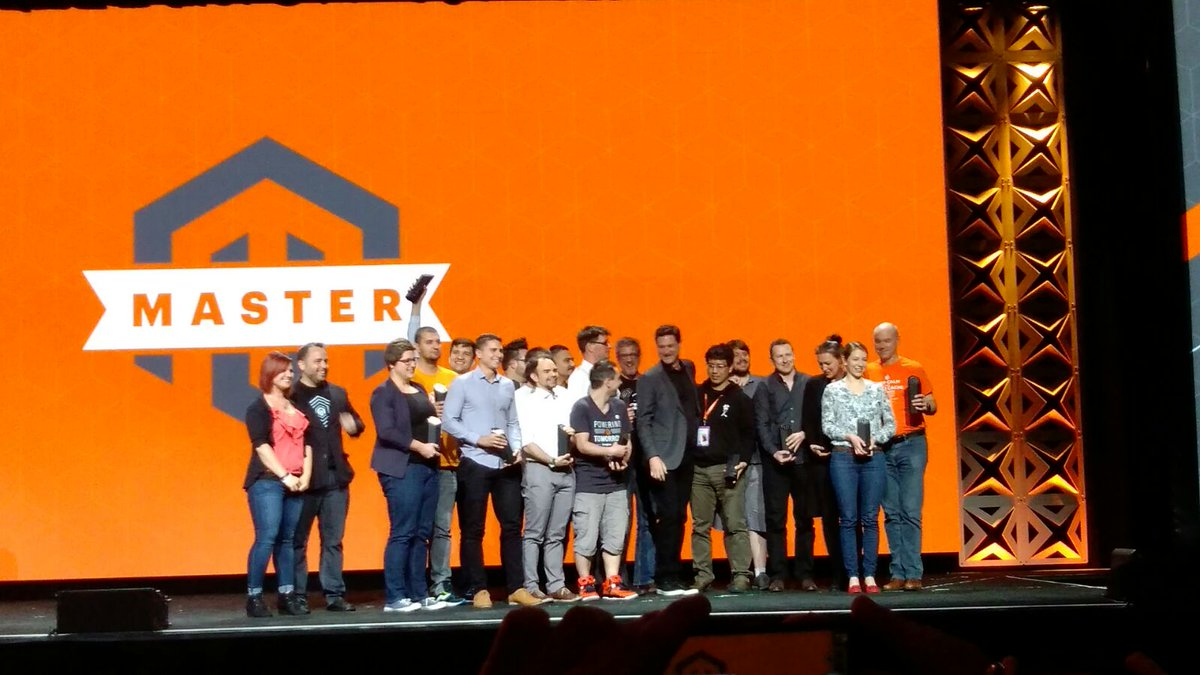 rescueAnn: So proud to be on stage with these amazing people! #MagentoMasters #MagentoImagine https://t.co/d5vSFrFAxF