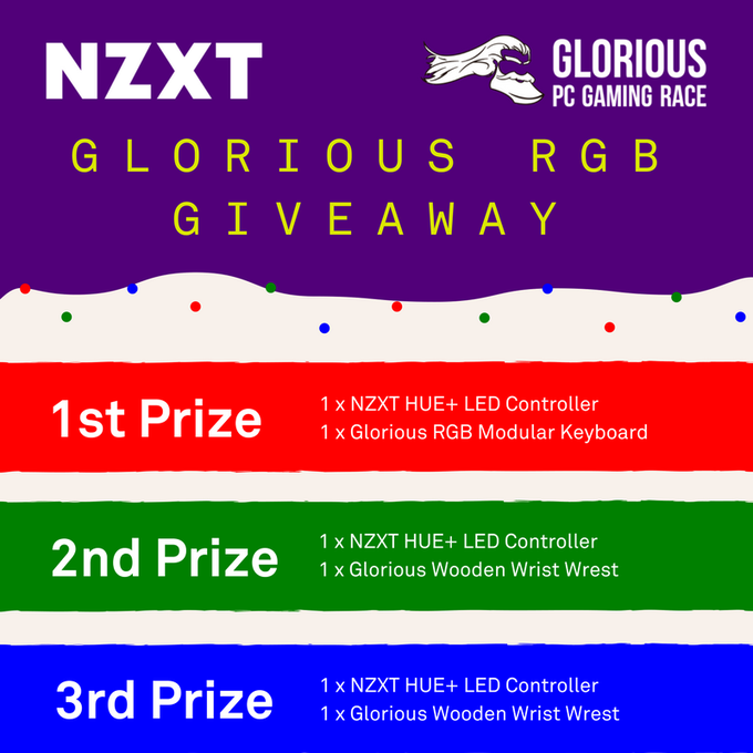 Glorious RGB Giveaway
