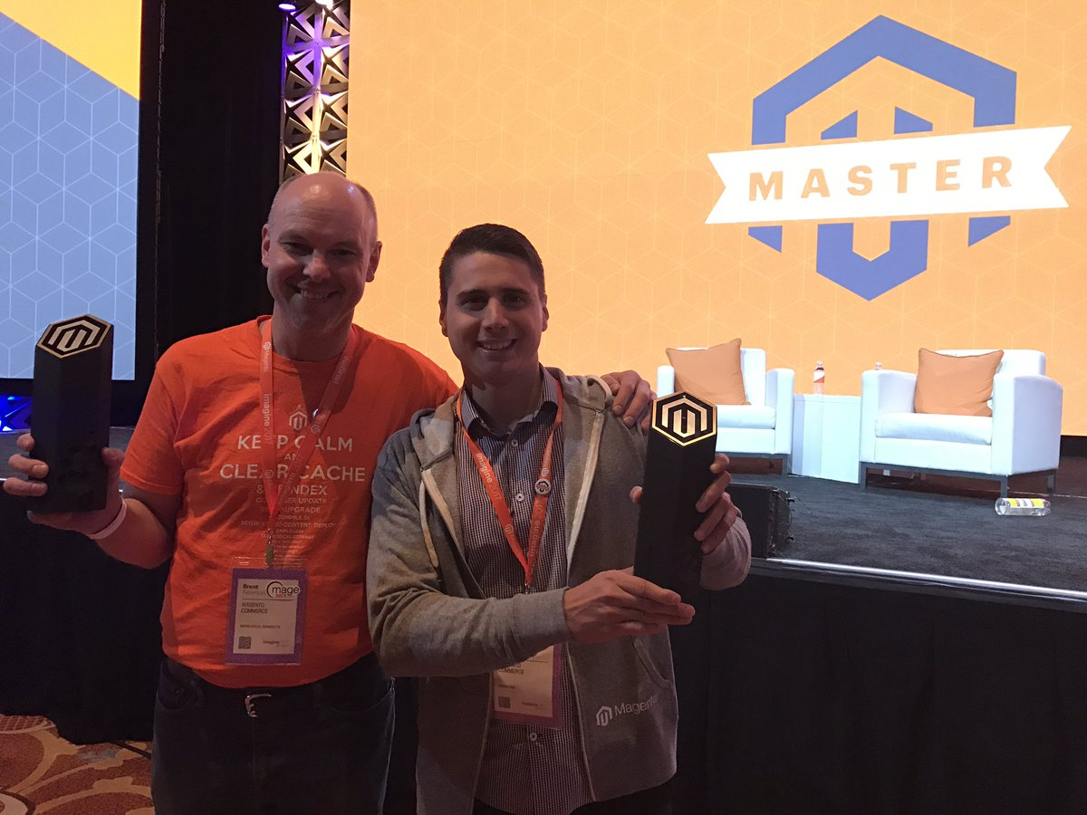 brentwpeterson: Congrats to @GuarinoMagento #Magentoimagine #magentomaster https://t.co/DaFpmbiUku