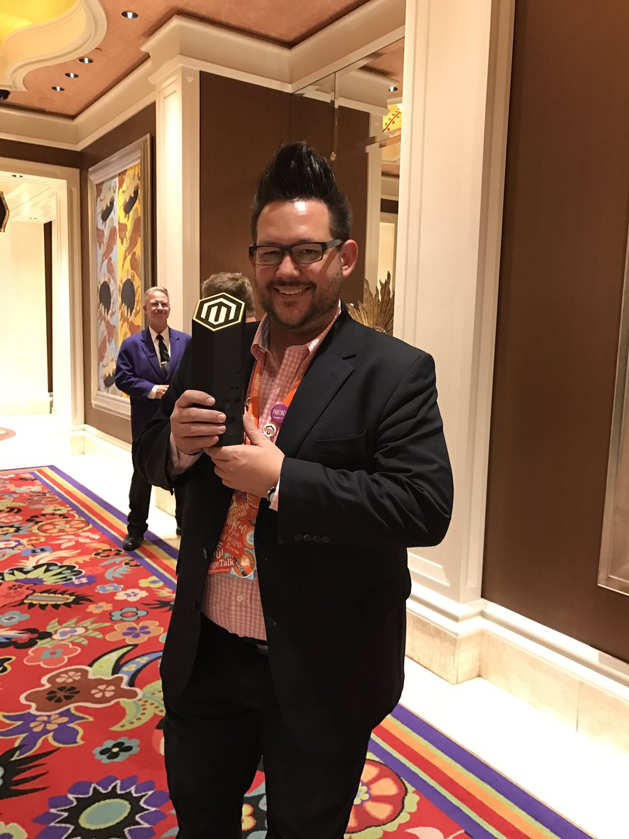 DCKAP: Congratulations @philwinkle on your Magento Masters Award #MagentoImagine  Well Deserved https://t.co/M44zQ6iySk