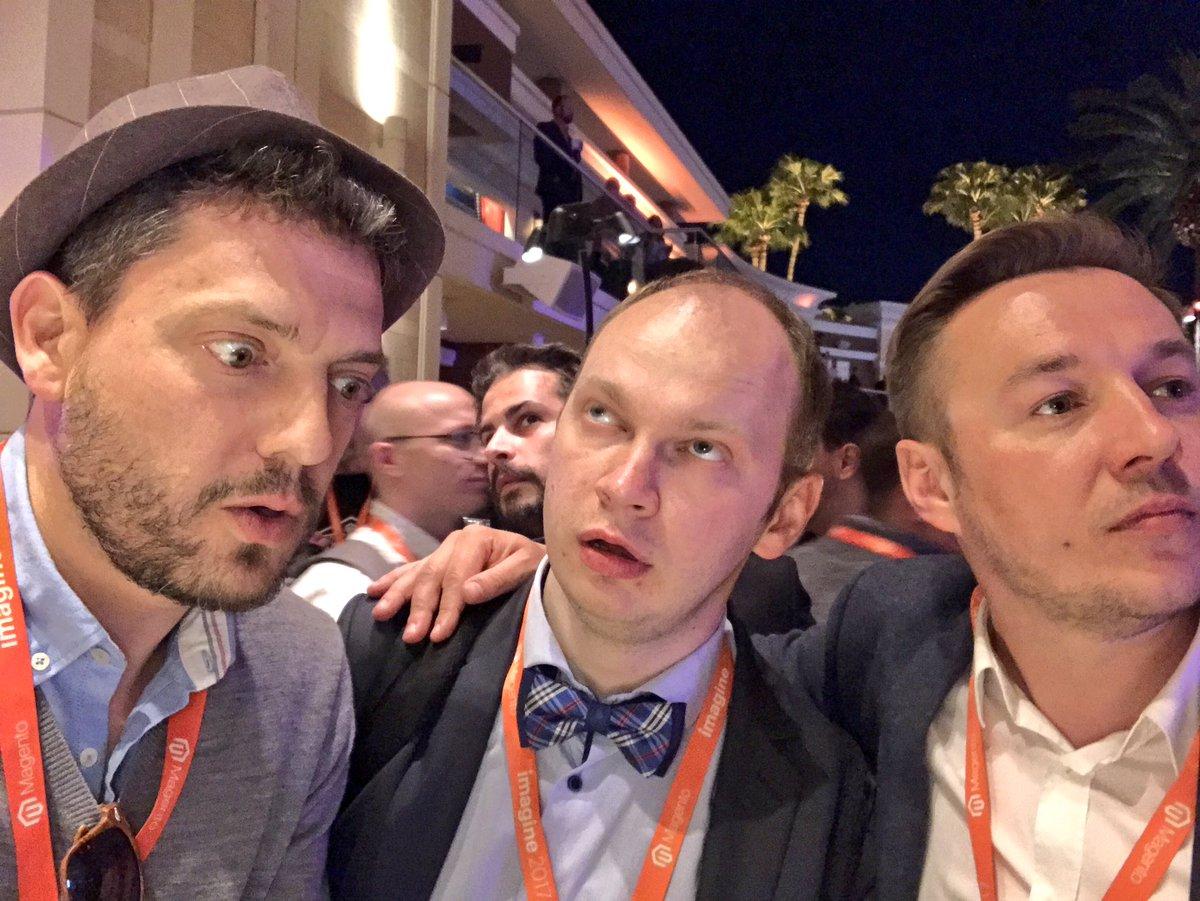 ignacioriesco: #MagentoImagine legendary party https://t.co/oYC2blgu0l