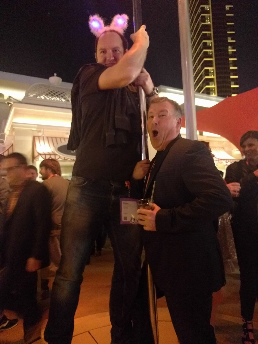psyberware: It's a good party when the stripper pole gets used. @ProductPaul @daim2k5  #Magentoimagine https://t.co/c2ACqt0FXs