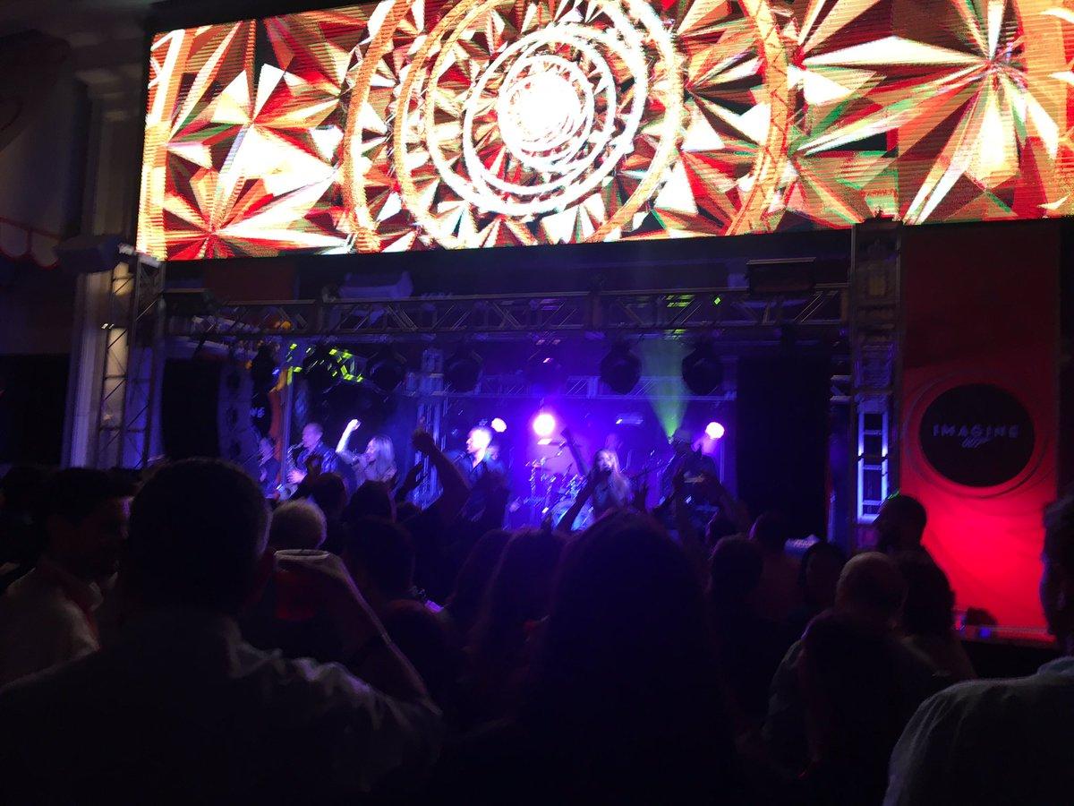 dverkade: The moment you see @benmarks on the drums 👌🏻#Magentoimagine https://t.co/dHLeJZAlCm