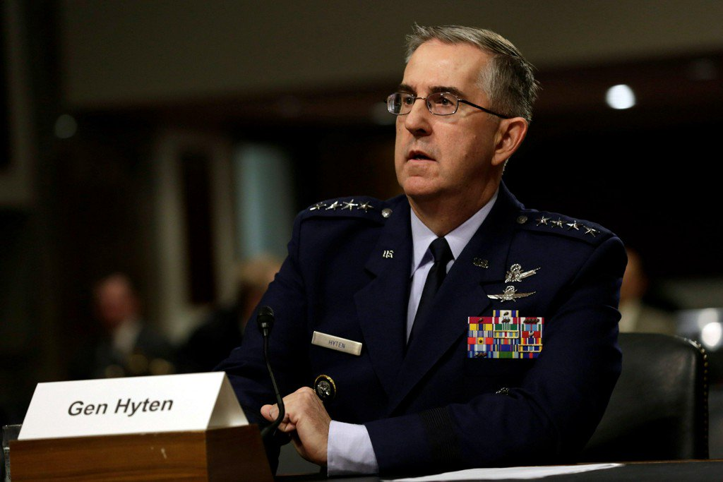 Top general concerned about drone threat to U.S. nuclear facilities