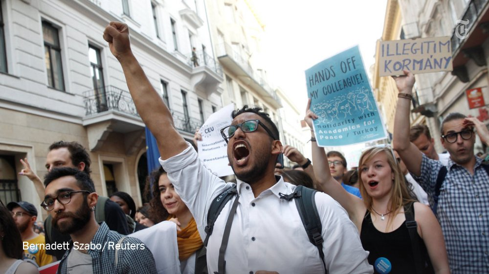 Hungary's Parliament passes a law targeting George Soros's university