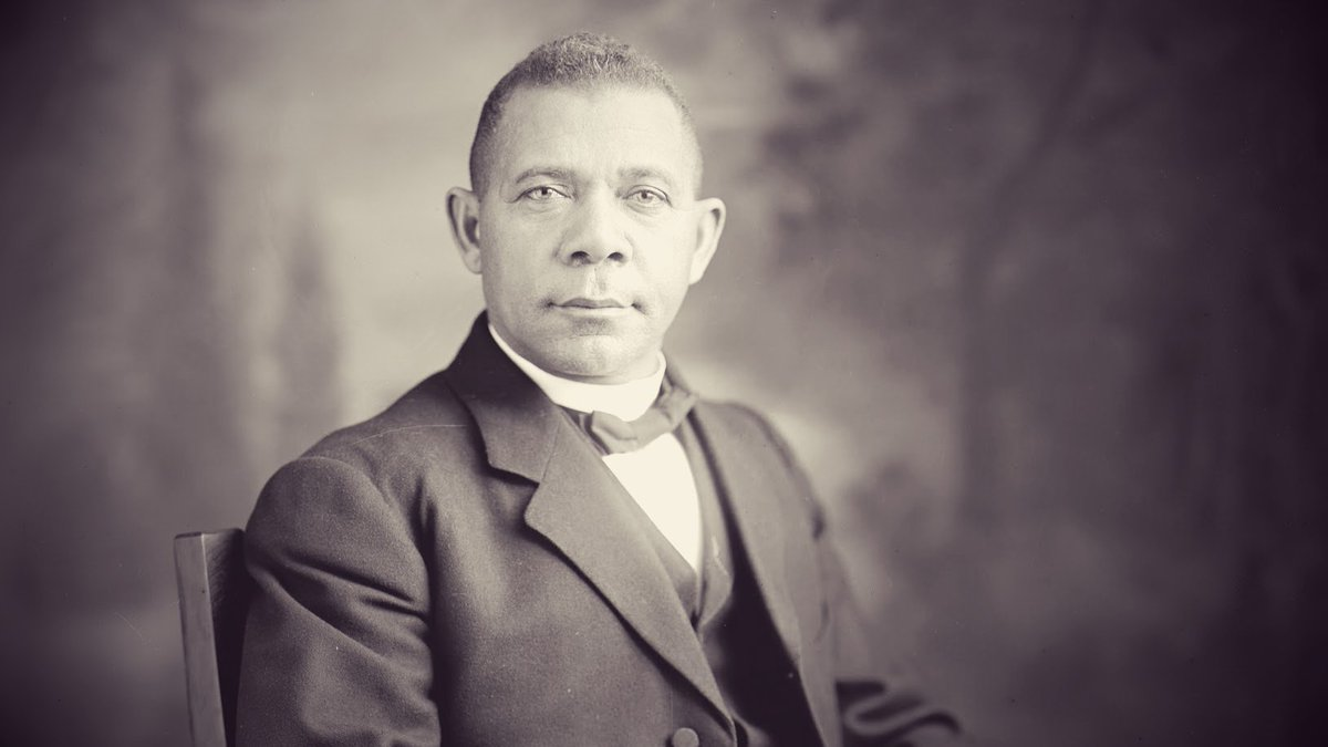 the flaws of booker t washington in walking the talk Prayer practices of 'the peanut man he wrote as much in a letter to booker t washington george washington carver's walk with god is such a powerful.