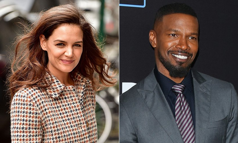 .@KatieHolmes212 and Jamie Foxx have been spotted on a secret dinner date!