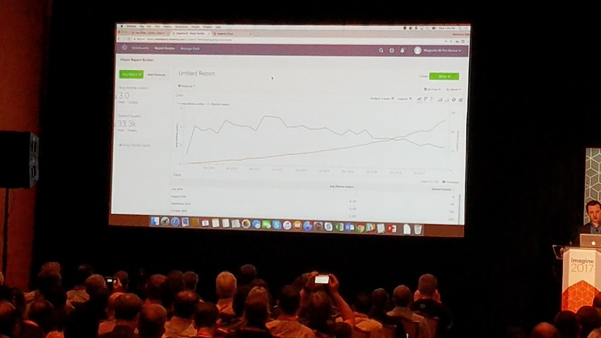 summasolutions: Magento BI pro allows to create custom reports, with a report building tool #MagentoImagine https://t.co/bnnCV4Pi48