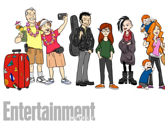 Twenty years after the debut of MTV's hit Daria, here's what everyone is up to today!
