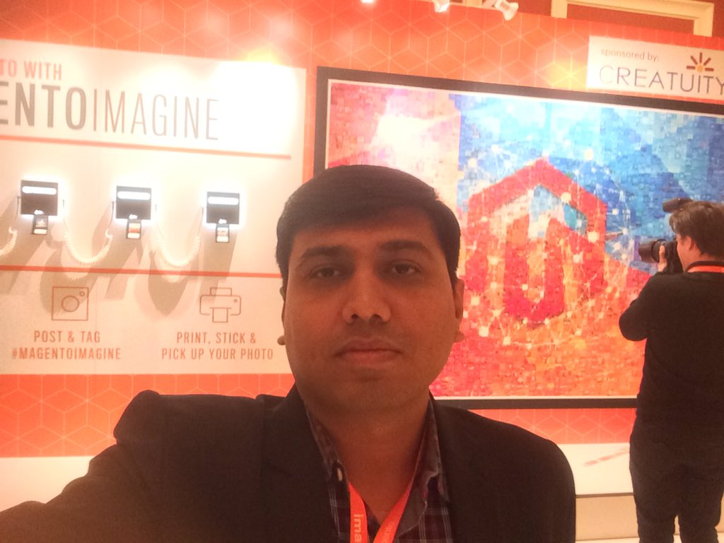bhaveshsurani: #Magentoimagine #Magento #Imagine2017 https://t.co/A6UnaeP50T