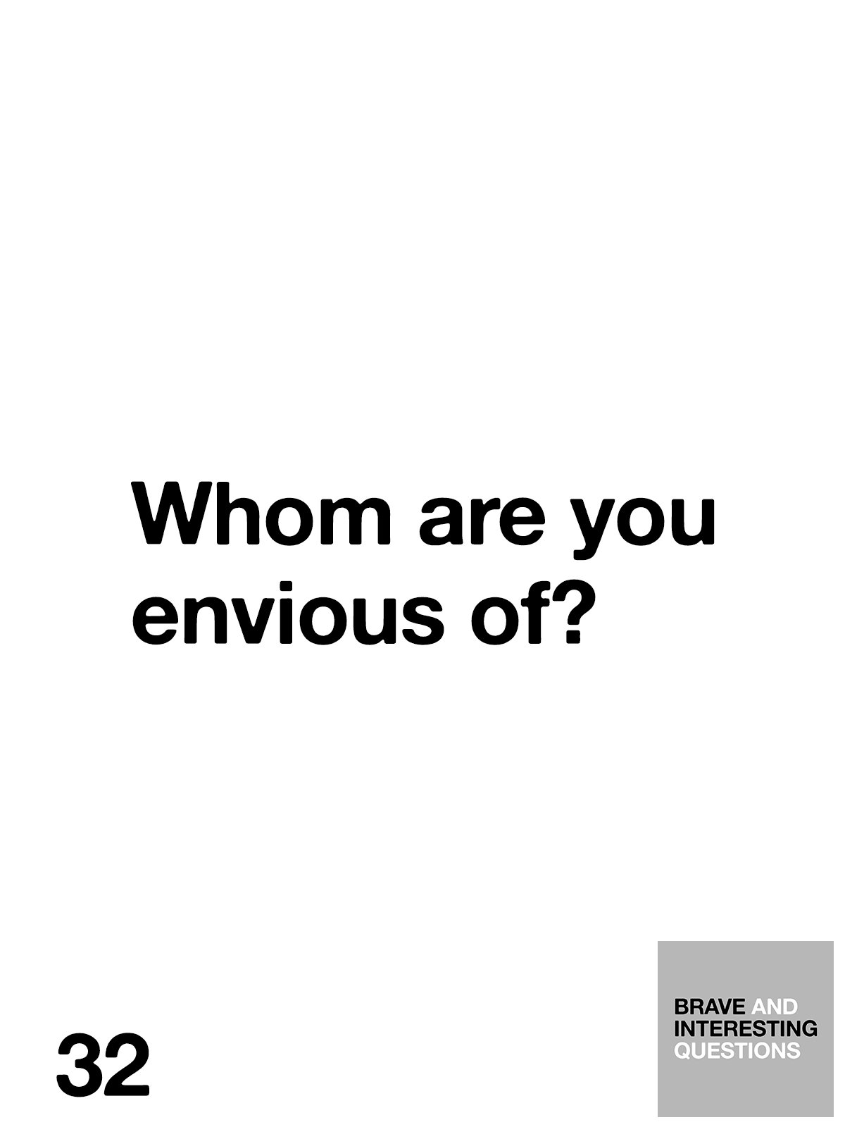 What's your answer?  #BraveAndInterestingQuestions https://t.co/hZnXZwkjXn