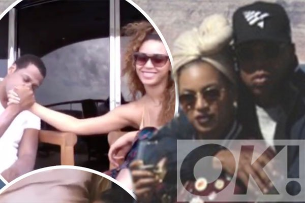 How cute is Blue Ivy?! @Beyonce shares never before seen family snaps and we CANNOT cope