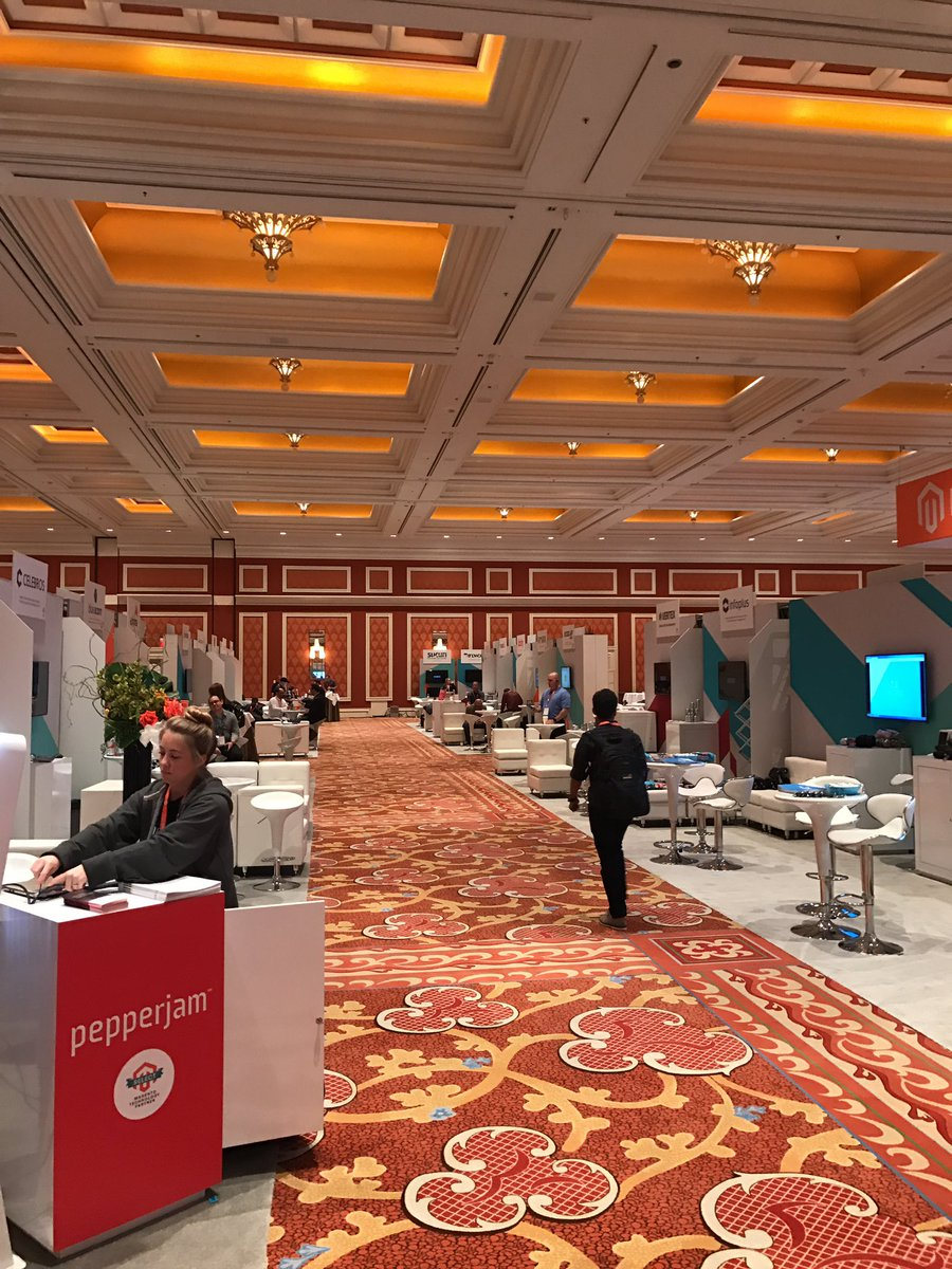 FutureDeryck: It is sooooo quiet here in the marketplace #magentoimagine - it's like everyone needs time to recover! https://t.co/lfBqJEBfqS