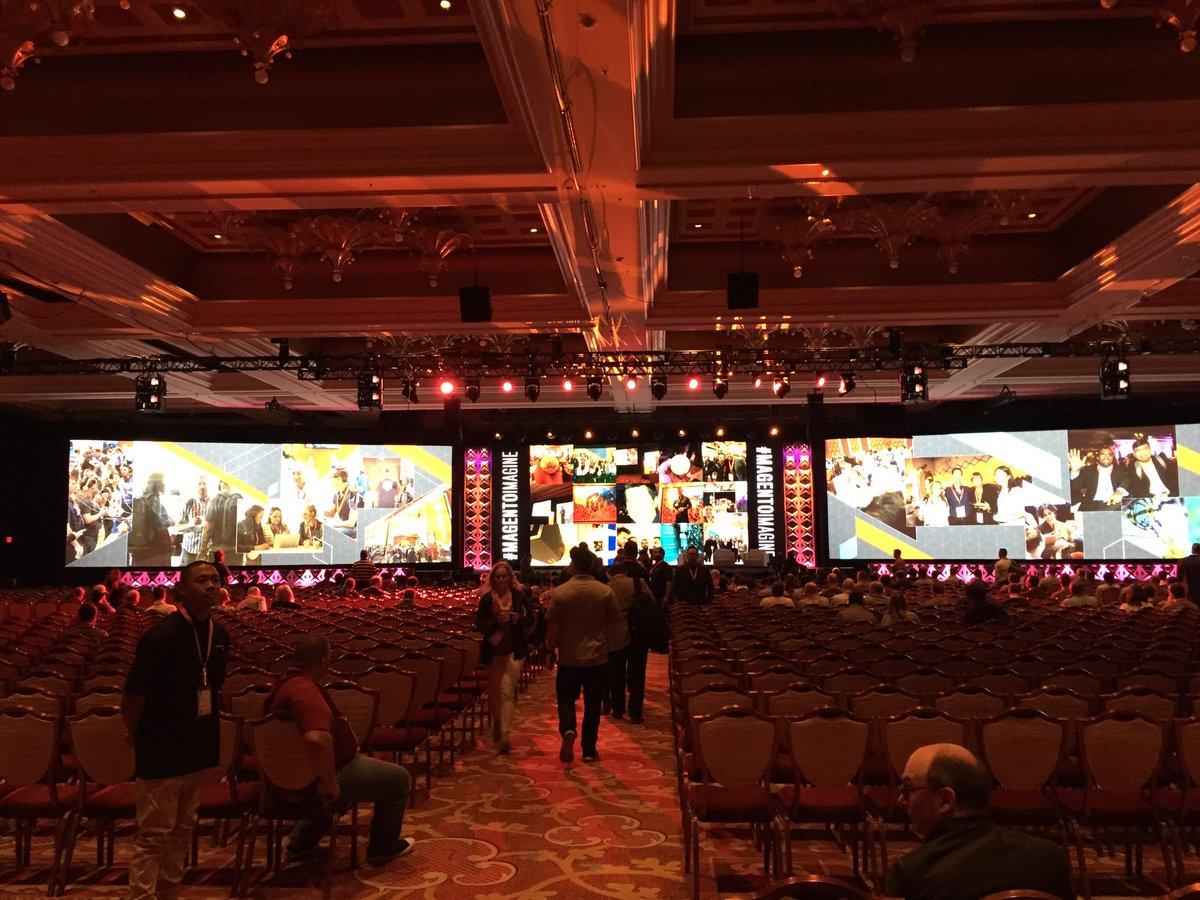magento_rich: General session is starting soon! #MagentoImagine https://t.co/Qbt5yJnZsn