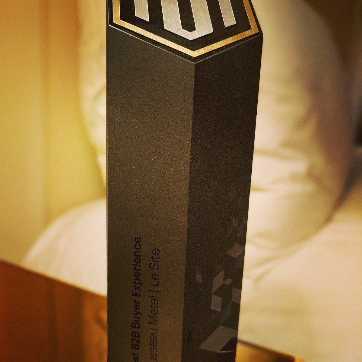 MBliah: Winning the best B2B award...It feels so gooood! #Magentoimagine https://t.co/FkXOk9MPtc