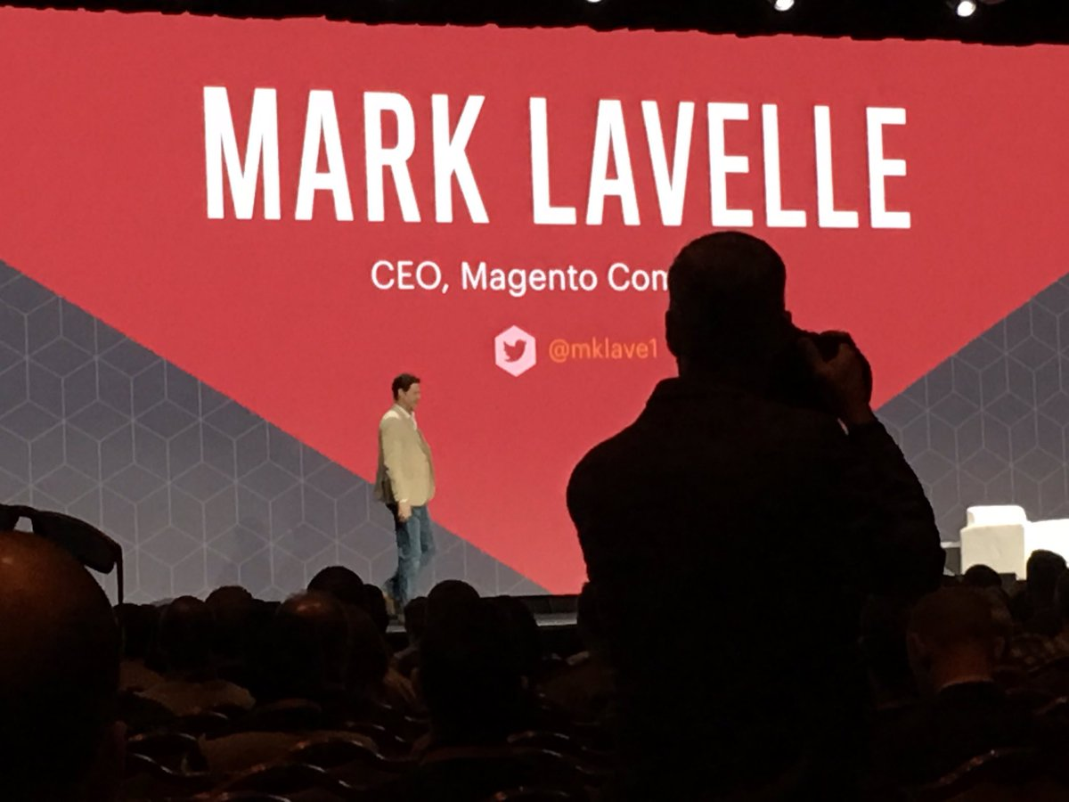 ebizmarts: Now @mklave1 sharing the strategy and goals for @magento #Magentoimagine https://t.co/IRpfFOjKBP
