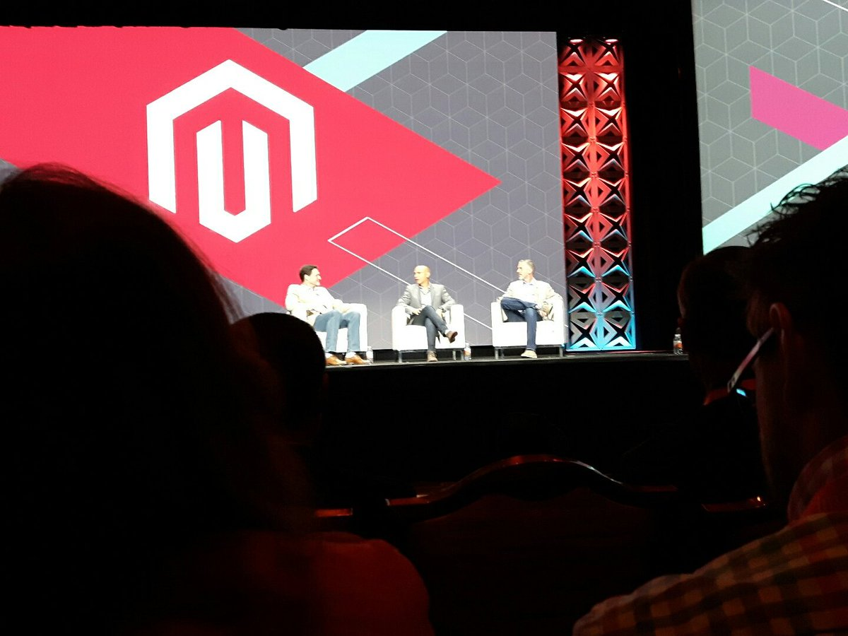 jissereitsma: Awesome to hear @royrubin05 talk about #magento again #Magentoimagine https://t.co/bC521l2Fwf