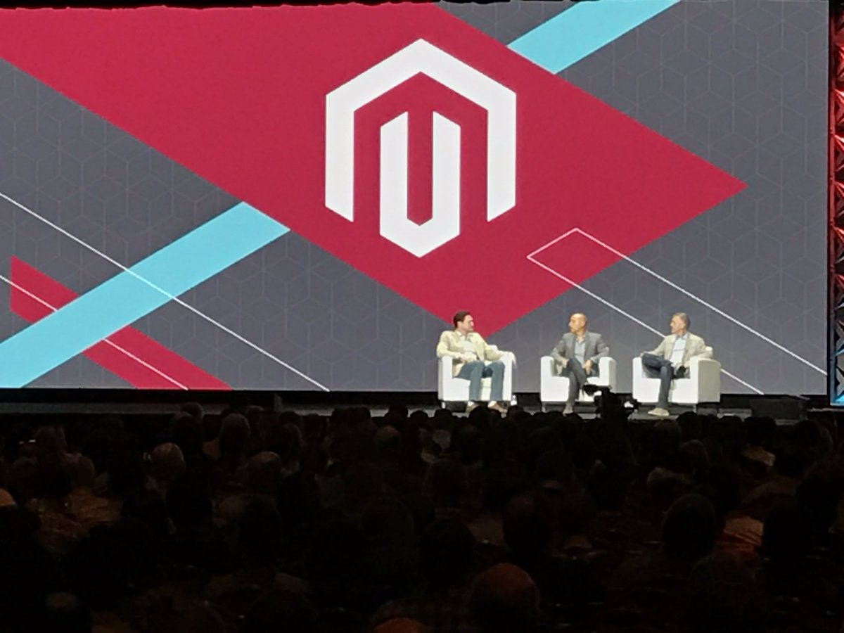jcrickmer: 'The community and ecosystem drive the direction of the product.' #MagentoImagine. https://t.co/eM3jZ7Odn8