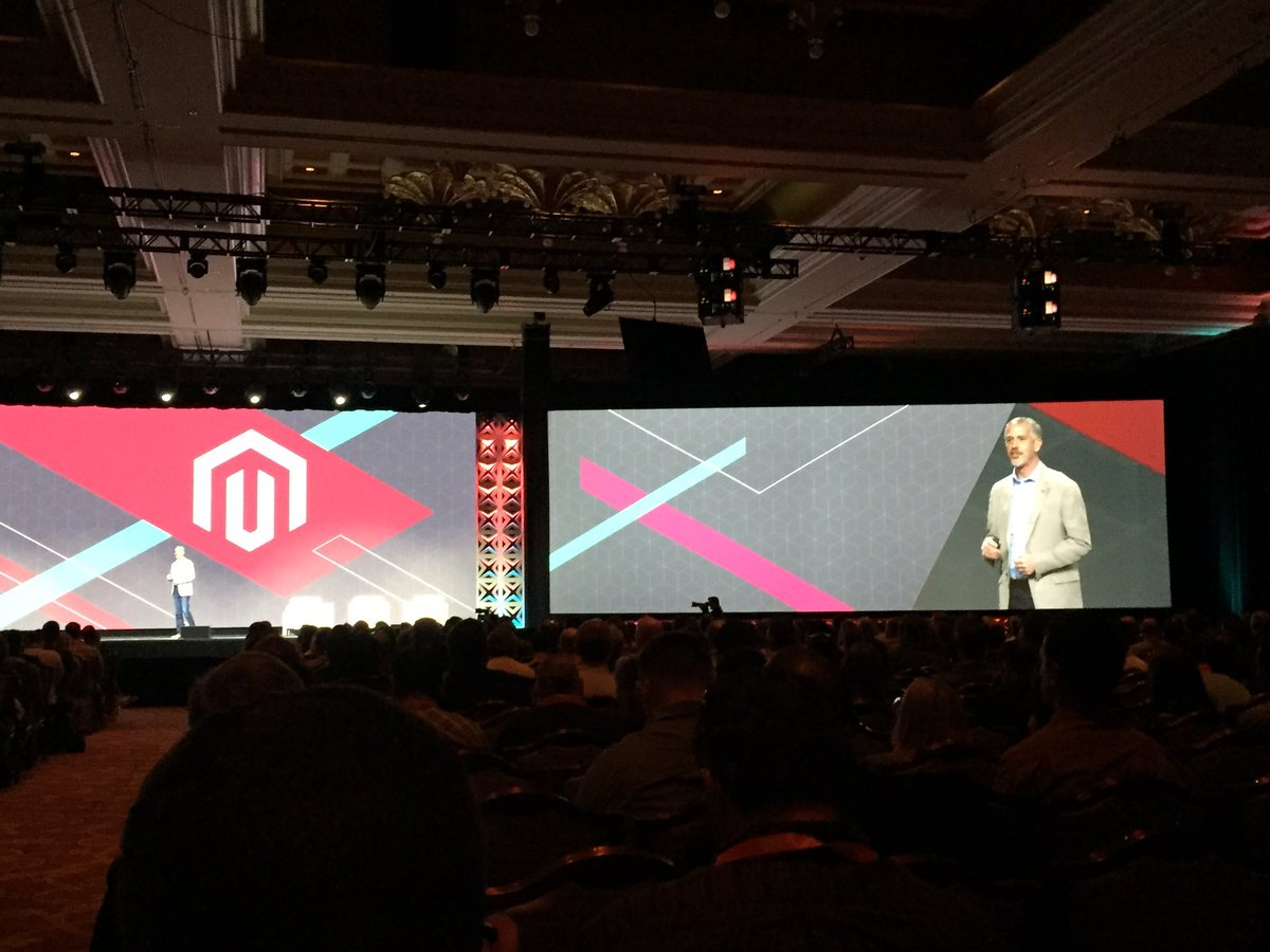 magento_rich: .@jasonwoosley_mg goes over Product Technology Vision. #MagentoImagine https://t.co/CH2A8BxcOu