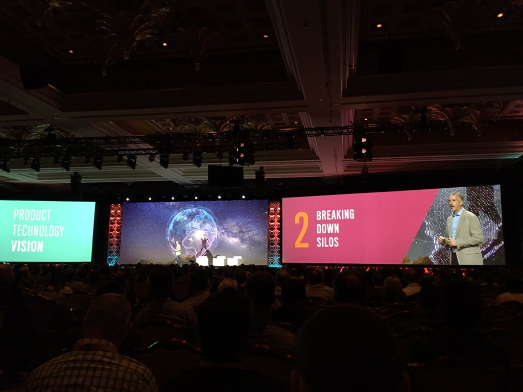 blackbooker: No. 2 in product vision is tearing down silos which inhibit forward motion #MagentoImagine https://t.co/X9fIvGiB20
