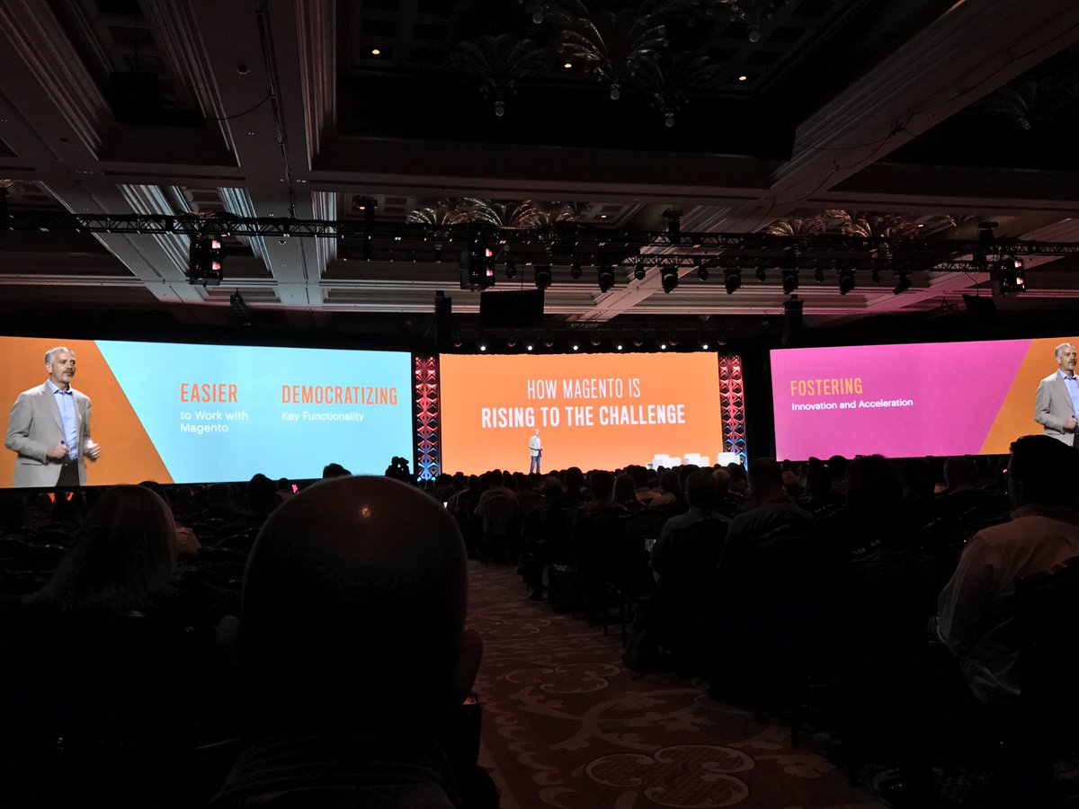 Creatuity: How Magento is improving as a platform and a company. #MagentoImagine https://t.co/TuZ5nHnM9H