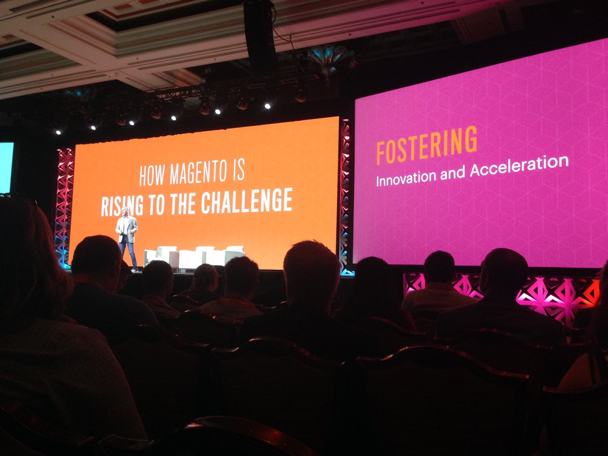SheroDesigns: How #magento is rising to the challenge... #MagentoImagine https://t.co/ZCnjt1qHFf