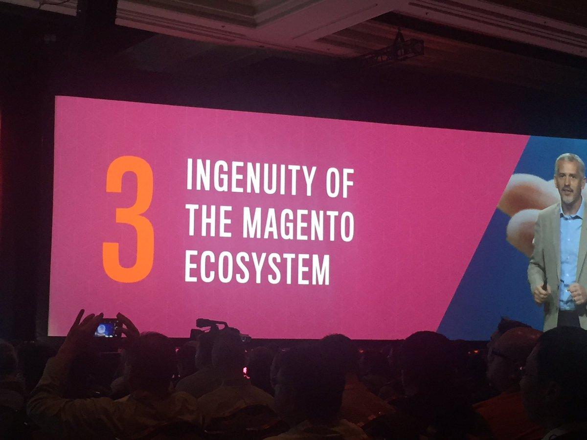 AgenceSOON: Ingenuity of the #Magento Ecosystem #magentoimagine #ecommerce https://t.co/v4ycbdacq7