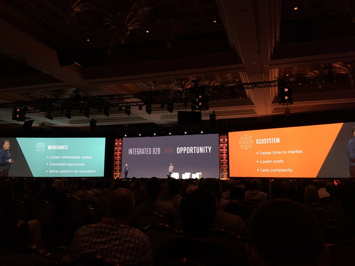 blackbooker: This B2B functionality is going to be powerful! Looking forward to where ecosystem takes it too #MagentoImagine https://t.co/rbU8MVXF4n