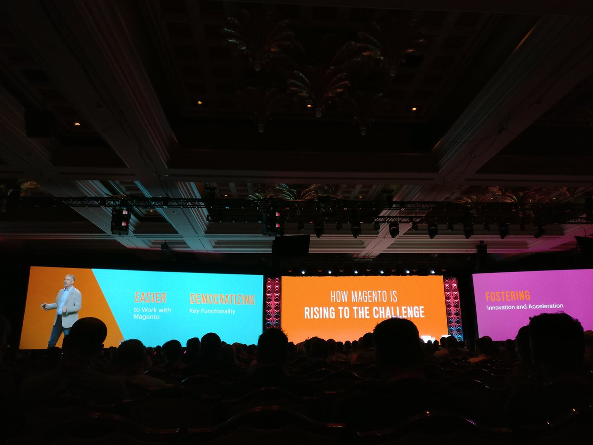 sherrierohde: How Magento is rising to the challenge. #MagentoImagine https://t.co/he042GXQwR