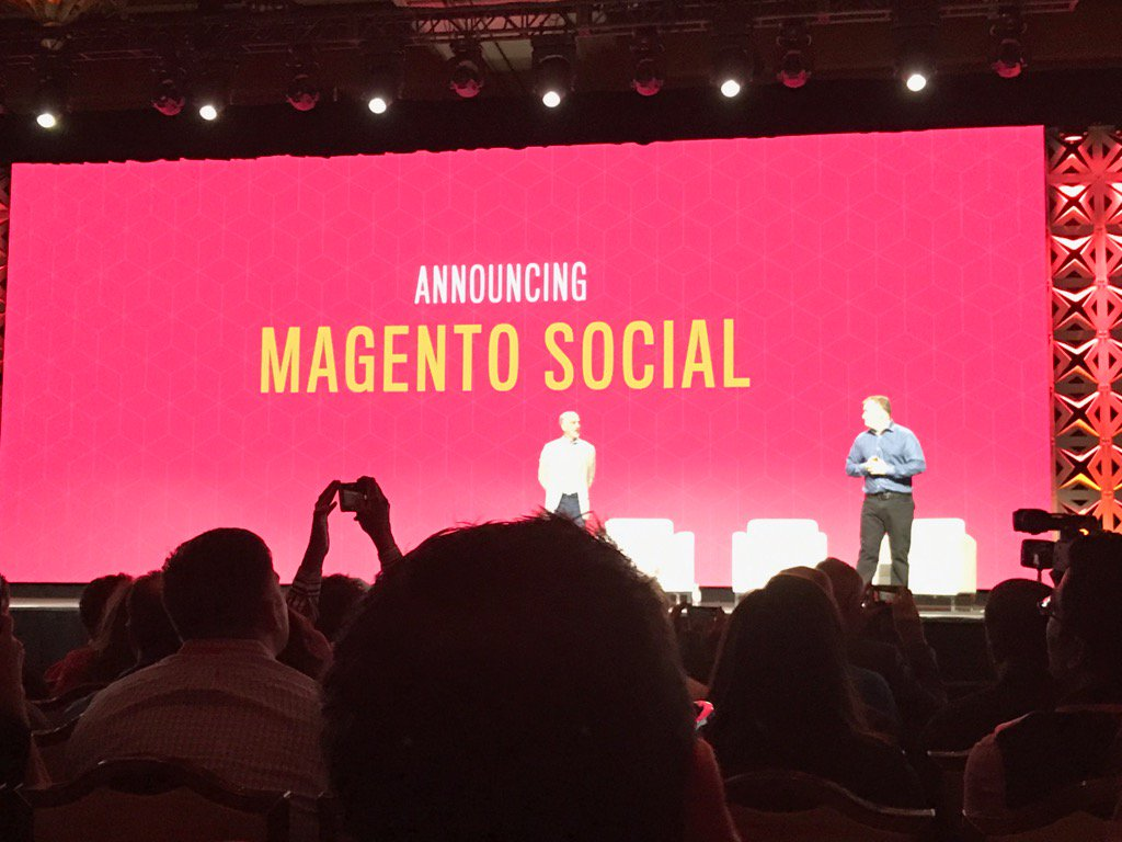 Blue_Bovine: #Magentoimagine @ProductPaul introducing magento social ! https://t.co/pv0tDvPBwV