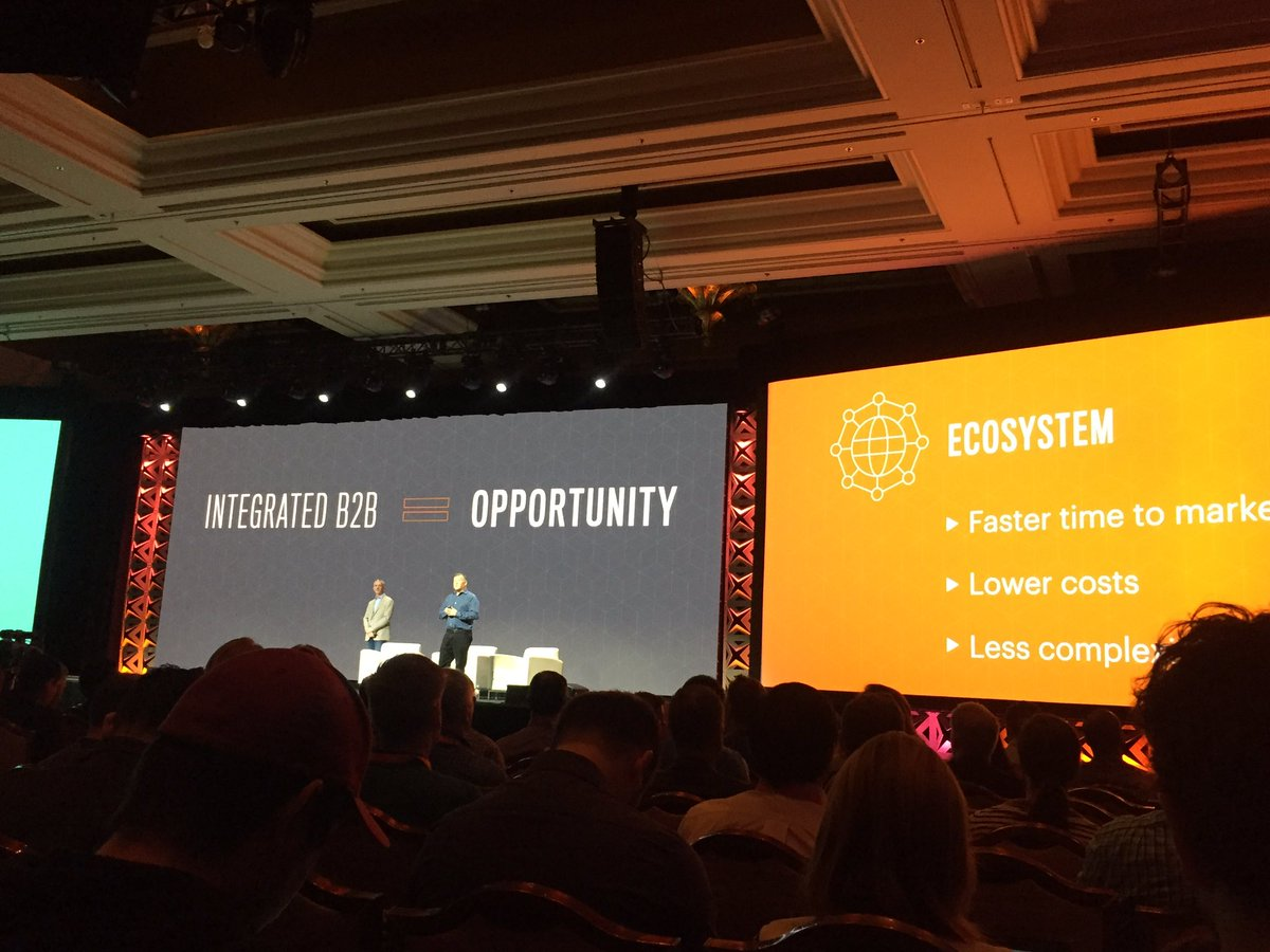 blueacorn: B2B Product updates from @ProductPaul: Request a quote,  requisition list, custom pricing and more #MagentoImagine https://t.co/JafVuypV4k