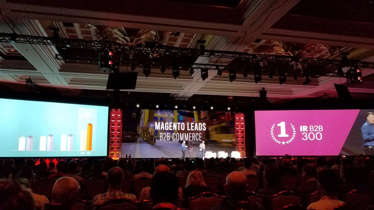 aldobressan: B2B eCommerce is becoming a force of nature. Magento is embracing that #MagentoImagine https://t.co/EEBiovZ4tr